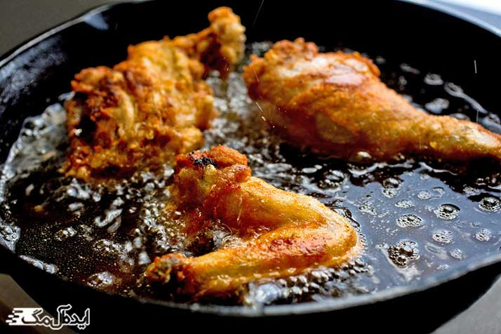 پرهیز از مصرف غذاهای سرخ کردنی