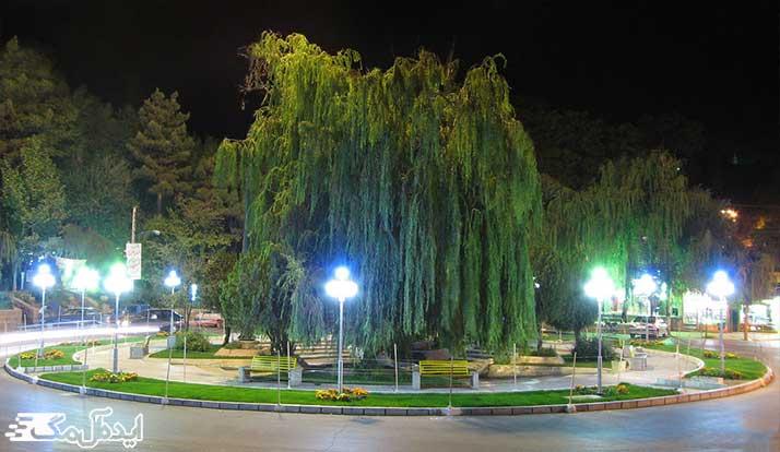 فلکه نادری (میدان امام خمینی شهمیرزاد)