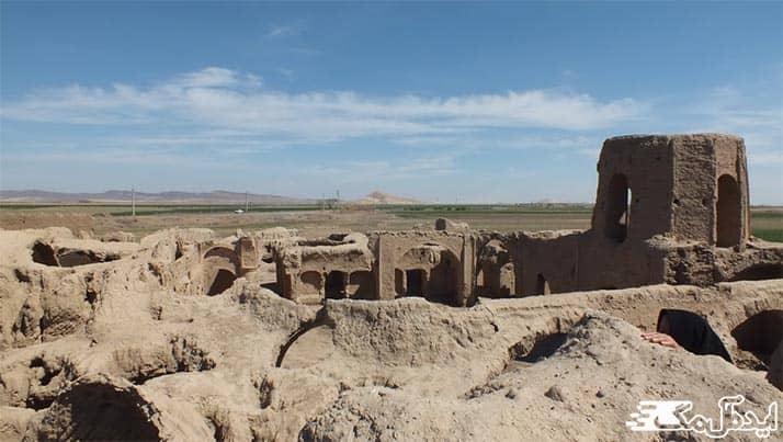 قلعه تاریخی کریم آباد رشتخوار