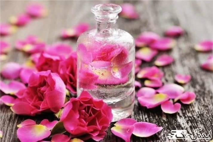 ماسک گلاب و گلیسیرین