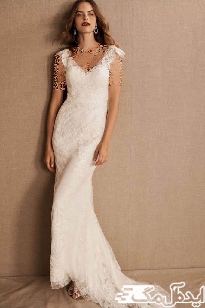 مدل لباس عروس راحت و کژوال