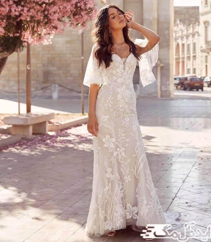 مدل لباس عروس راحت و رمانتیک