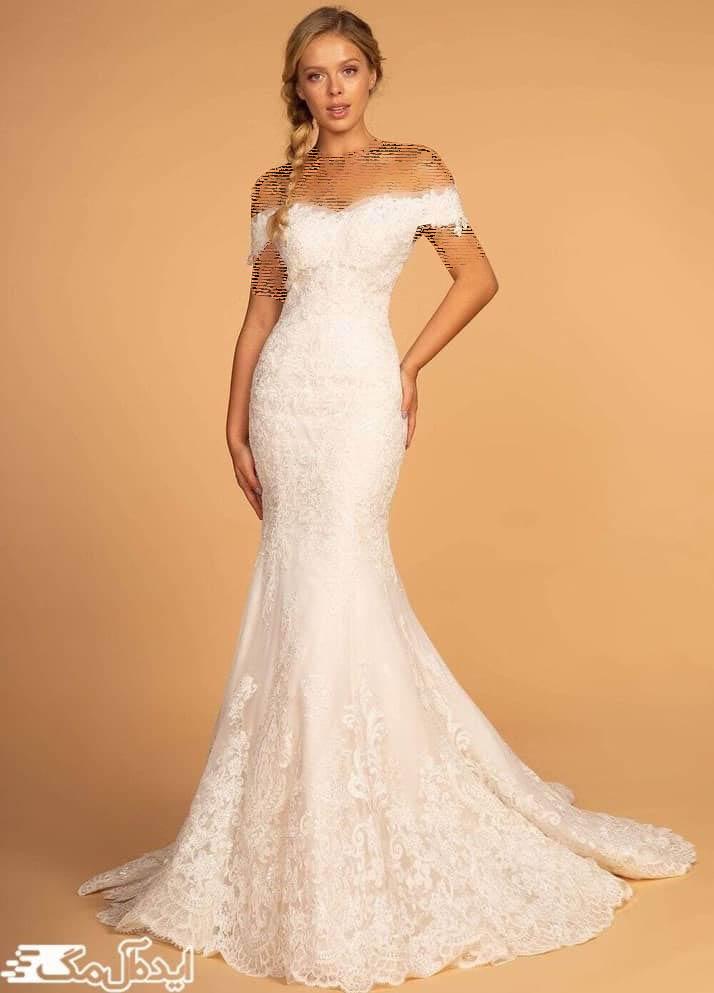 مدل لباس عروس پری دریایی