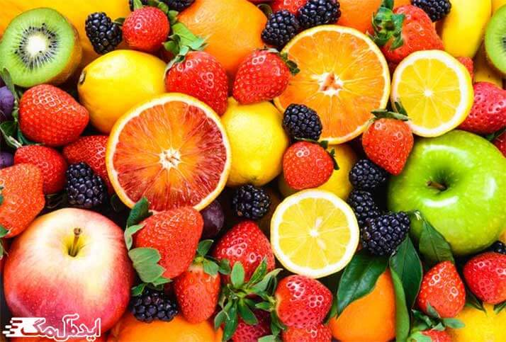 میوه های حاوی فیبر