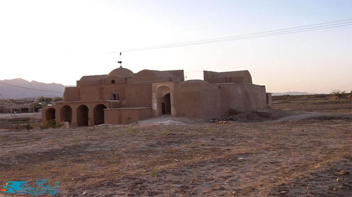 مسجد جامع رقه از جاذبه های گردشگری بشرویه