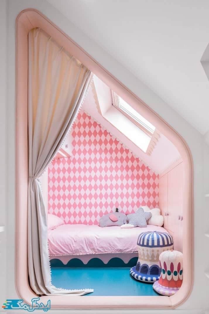 کوچکترین اتاق خواب