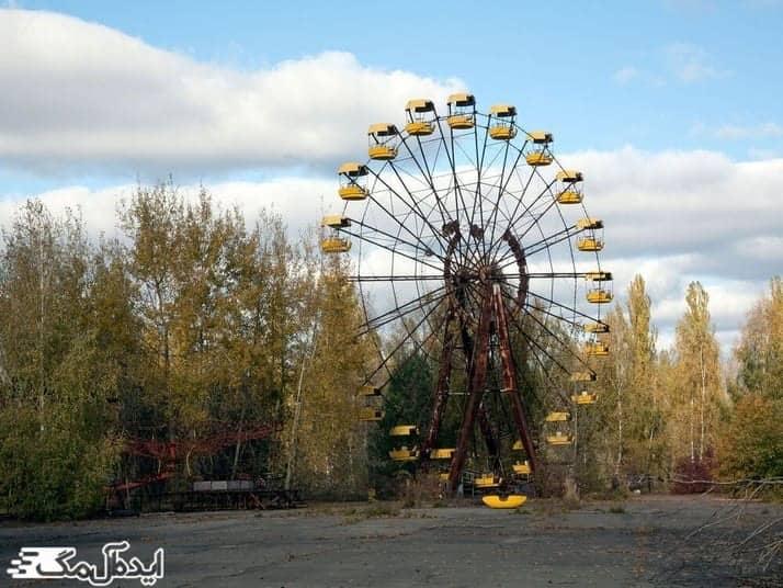 شهر متروکه پریپیات در اوکراین از ترسناک ترین مکان های دنیا