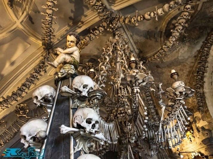 کلیسای استخوان سدلچ درجمهوری چک