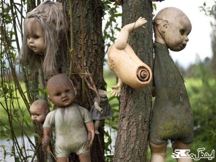 جزیره عروسک ها در کشور مکزیک