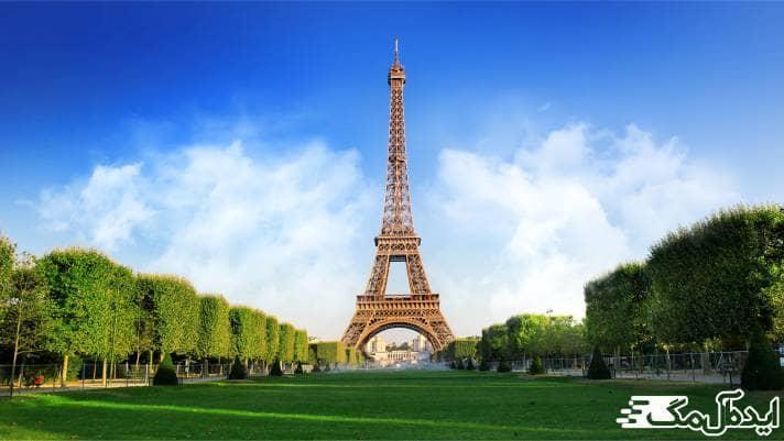 برج ایفل شاهکار بی نظیر پاریس