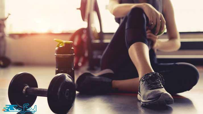 لاغری شکم با ورزش کردن