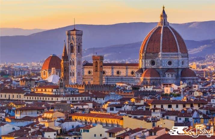 شهر فلورانس یکی از دیدنی ترین شهرهای ایتالیا