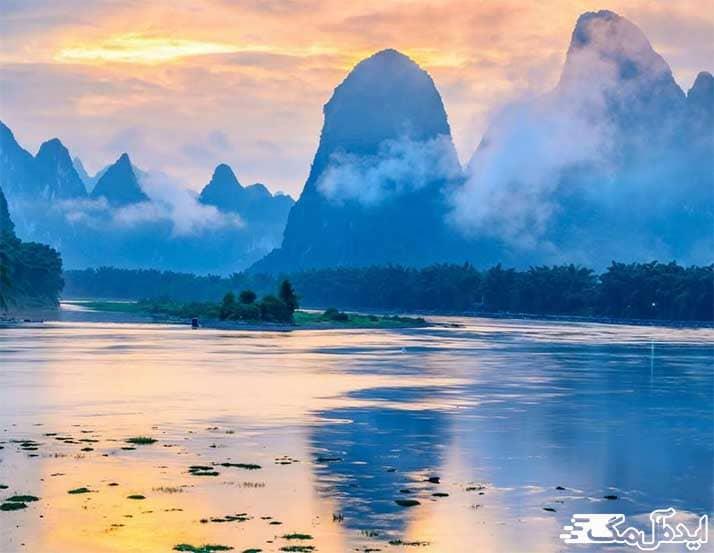 زیباترین مناطق دیدنی چین