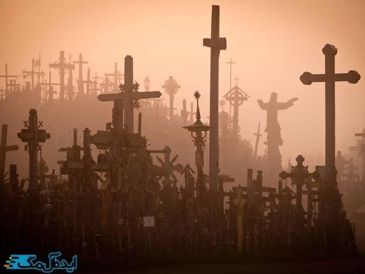 تپه صلیب ها در کشور لیتوانی