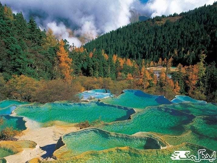 عکس دیدنی ترین پارک های چین