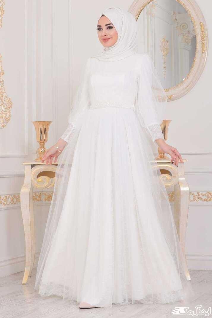 لباس عروس اسلامی جدید