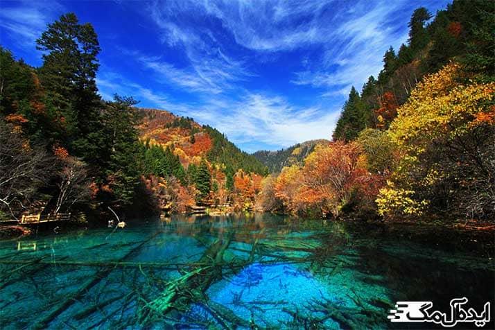 جاذبه های گردشگری طبیعی چین