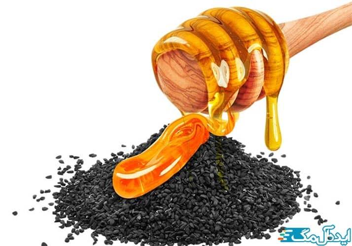 خواص مخلو ط سیاه دانه و عسل