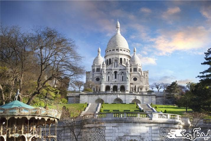 کلیسای قلب مقدس یکی از جاهای دیدنی پاریس است