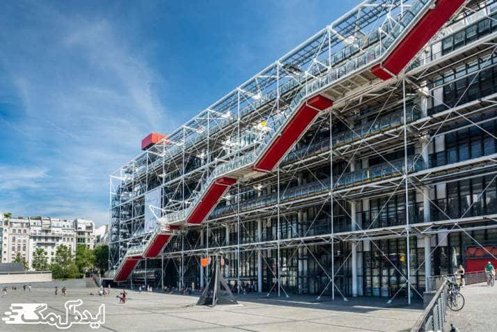 مرکز ژرژ پمپیدو از جاهای دیدنی پاریس
