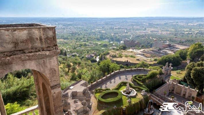 تیوولی یکی از دیدنی ترین شهرهای ایتالیا