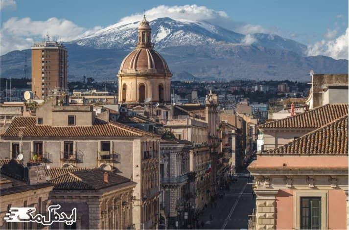 کاتانیا یکی از شهرهای زیبای کشور ایتالیا