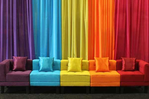 استفاده از رنگ ها در دکوراسیون