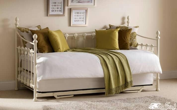 دیزاین اتاق خواب کوچک با تختخواب