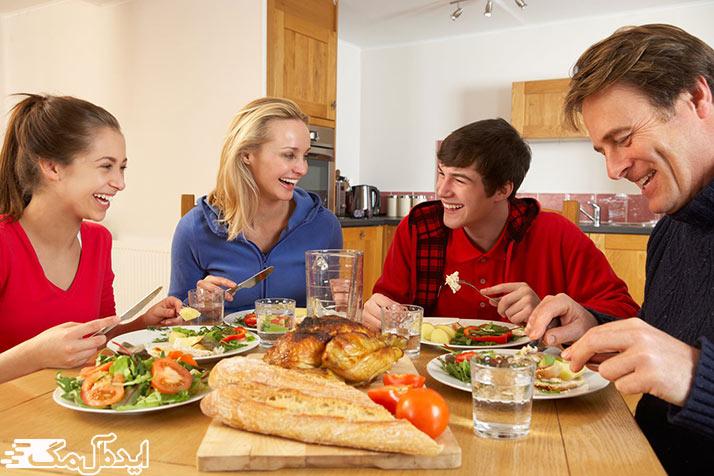 نقش تغذیه سالم در حفظ سلامت دهان