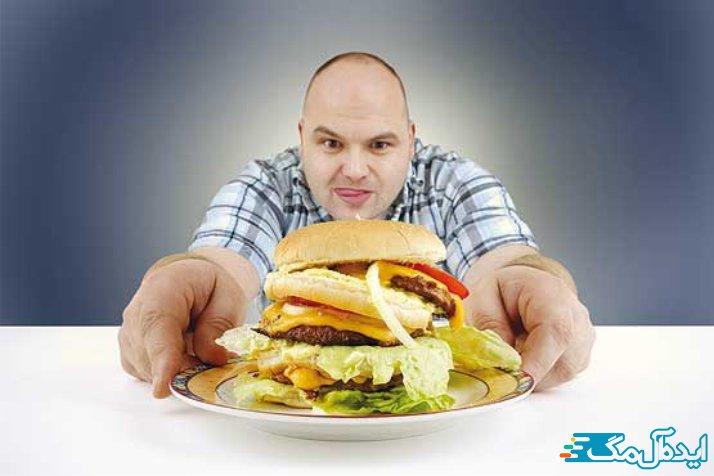 غذا خوردن قبل از خواب