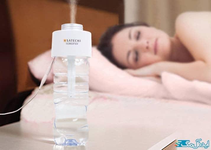 استفاده از دستگاه بخور سرد برای رفع دهیدراته بودن پوست و پوسته پوسته شدن آن