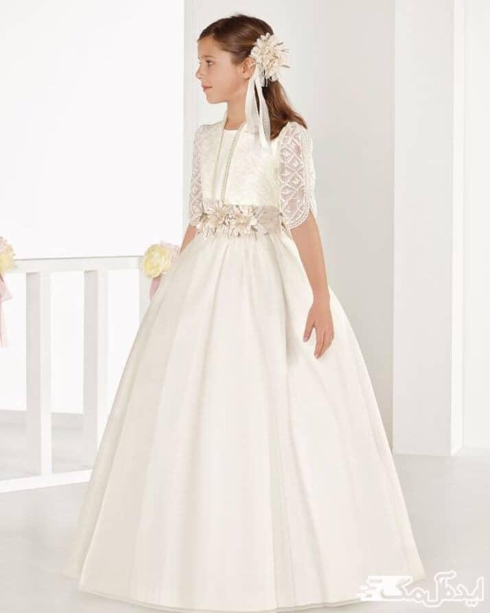 لباس دخترانه بلند
