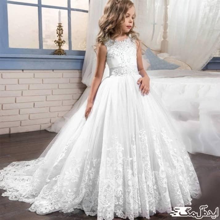 لباس عروس بچگانه شیک