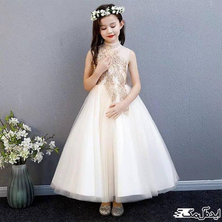 لباس عروس مجلسی برای کودک
