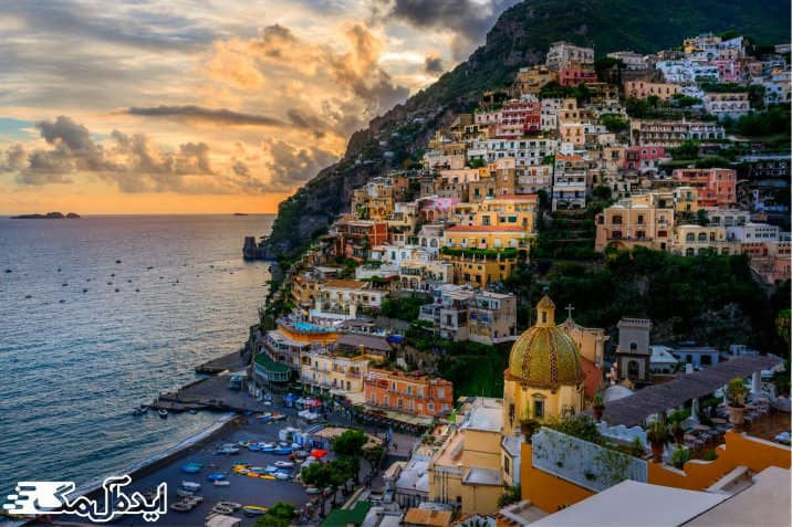 شهر ناپل یکی از دیدنی ترین شهرهای ایتالیا