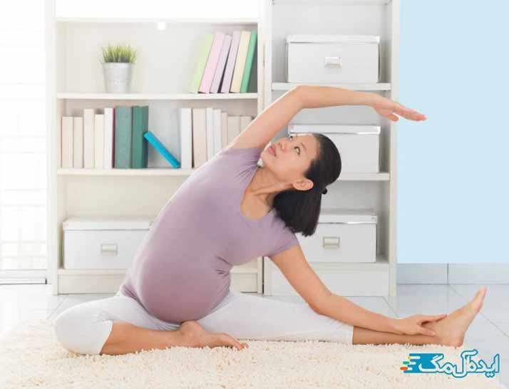 انجام یوگا در دوران بارداری