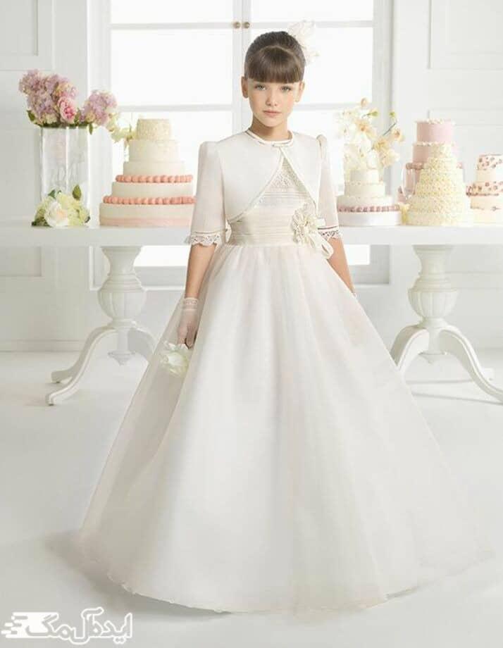 لباس عروس پرنسسی کودکانه