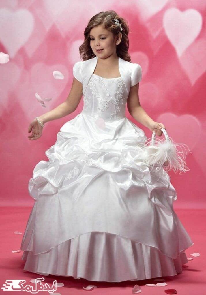 لباس پرنسسی برای دختر بچه