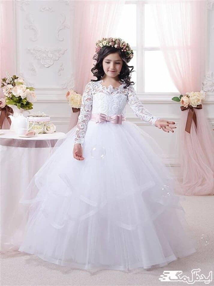 لباس مجلسی پرنسسی برای کودک