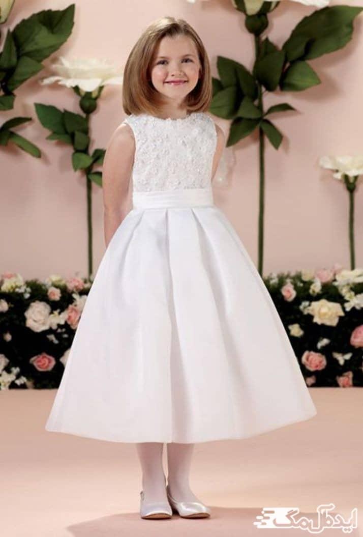 مدل لباس عروس بچگانه شیک