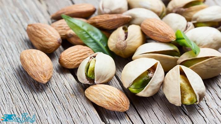 مصرف بادام و پسته جایگزین کپسول لاغری