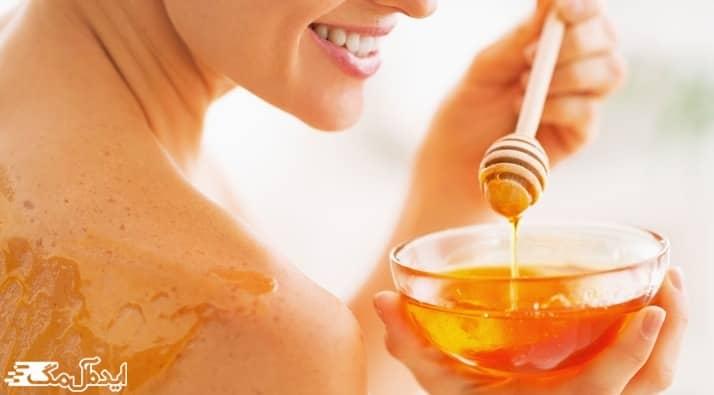ماسک عسل برای روشن شدن پوست تیره و برنزه