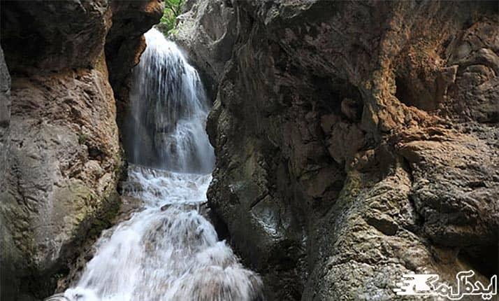 آبشار آق سو در کلاله