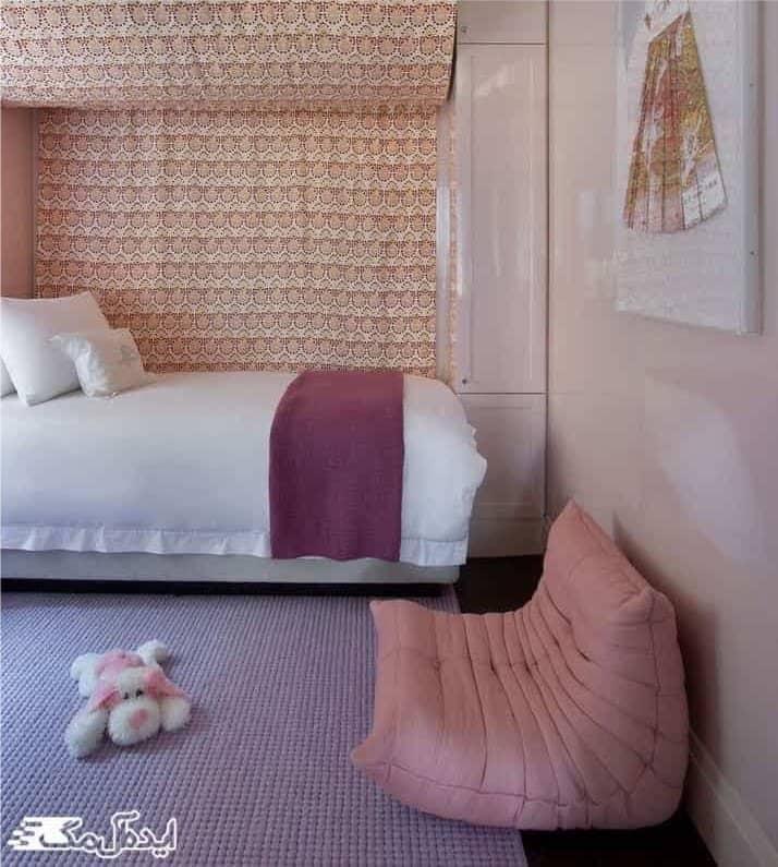 حال و هوای صورتی برای اتاق خواب