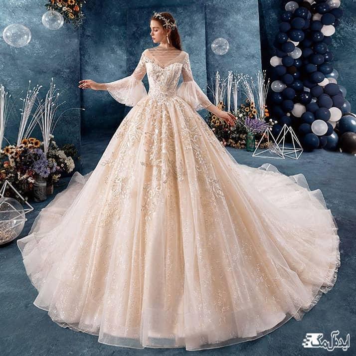 لباس عروس فانتزی پرنسسی
