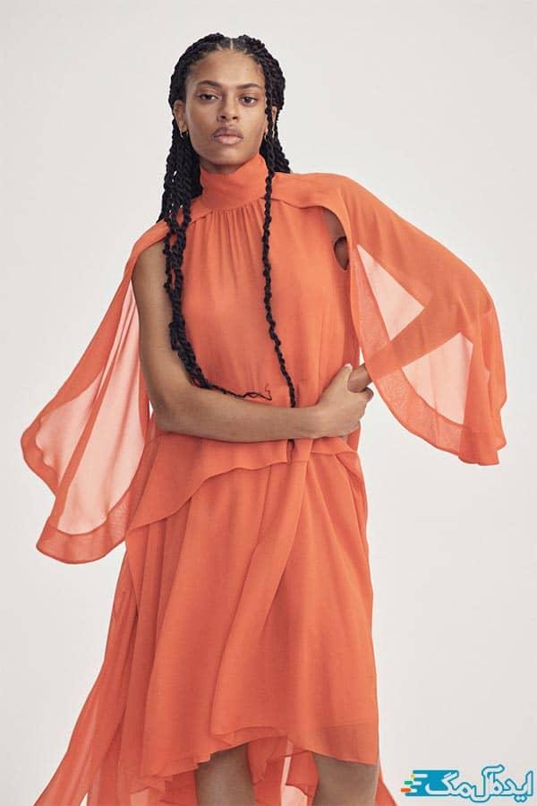 مدل لباس حریر زنانه شیک