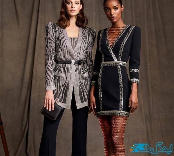 مدل کت و شلوار و کت و دامن زنانه شیک و ساده