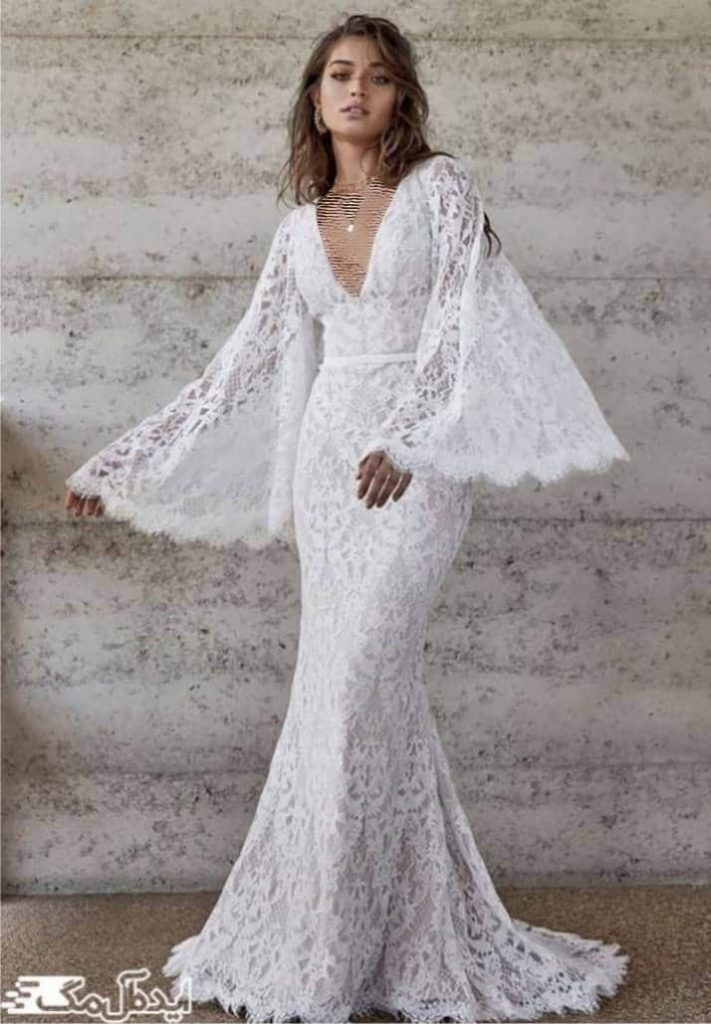 بهترین لباس عروس دانتل 2020