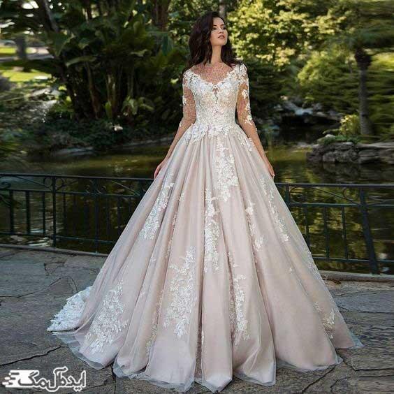 لباس عروس پرنسسی ترکیه