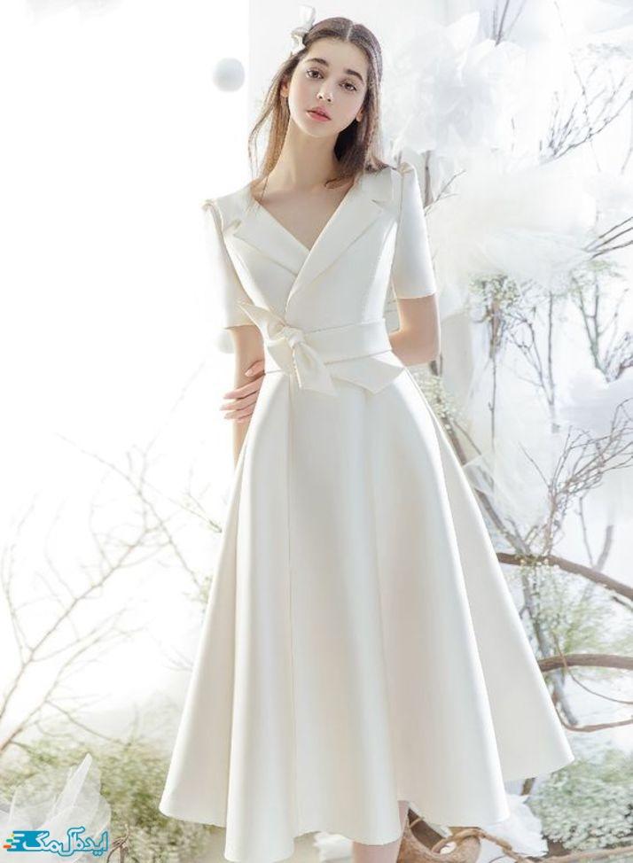 لباس عروس نامزدی دخترانه